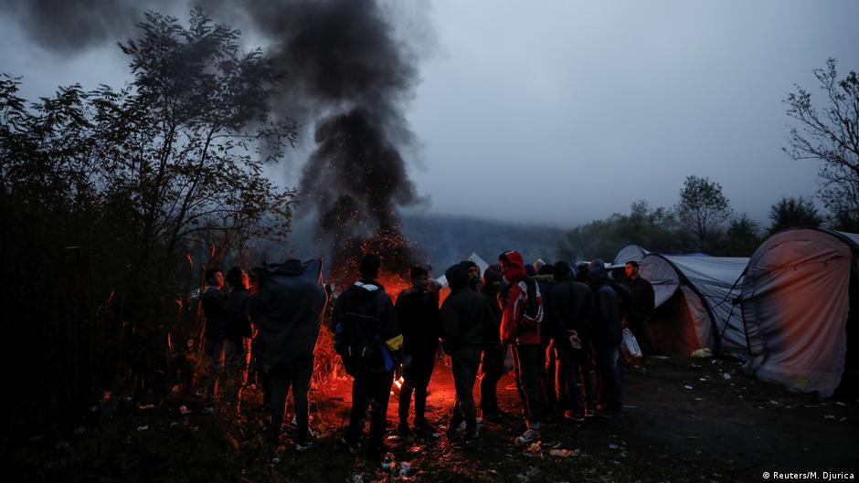 Bosnia's Vucjak camp: Migrants, a garbage dump — and a road to nowhere