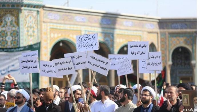روزنامه دولتی ایران تهدید مجدد روحانی به استخر فرح در قم را نشانگر سازمانیافته بودن اقدامات مخالفان دولت میداند