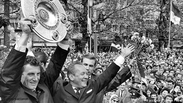 Njemački prvak sa FC Kölnom 1962.