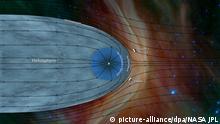 NASA | Raumsonde Voyager 2 im interstellaren Raum