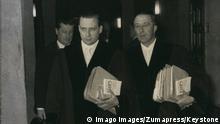 Deutschland Auschwitz-Prozesse Staatsanwälte Wiese und Zack