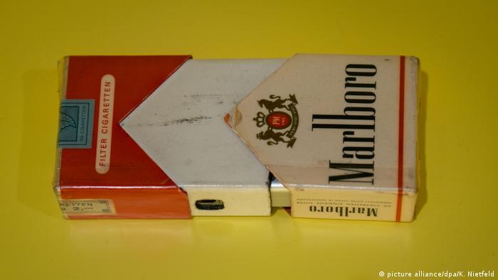 Фотокамера, замаскована під пачку цигарок