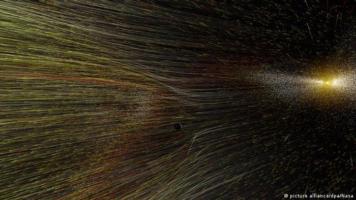 Pero las mediciones comparativas de las dos sondas hermanas han demostrado que hay una frontera muy fina en el interior de nuestro sistema solar. Y la temperatura del medio interestelar es significativamente más alta de lo esperado. Los investigadores sospechan que la heliosfera podría empujar una especie de onda de arco a través del medio interestelar frente, pero esto todavía debe medirse.