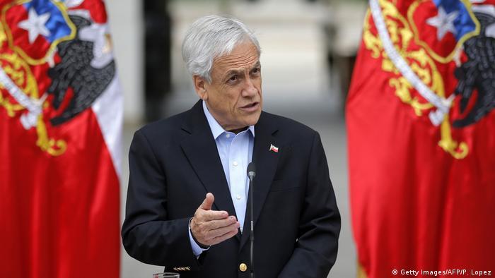 Presidente chileno Sebastán Piñera