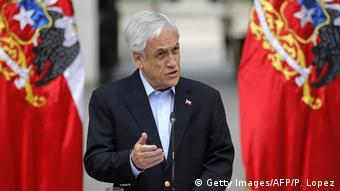 Presidente chileno, Sebastian Piñera.