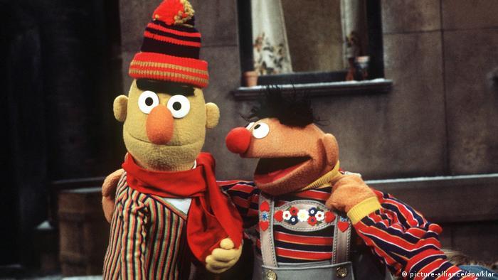 Bert and Ernie (picture-alliance/dpa/klar)