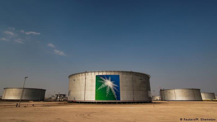 Saudi oilm tanks