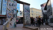 Die Berliner Mauer Copyright: Natalia Messer