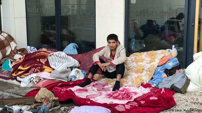 Bosnien und Herzegowina l Migranten in Tuzla