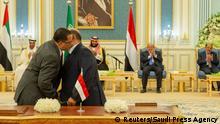 Saudi-Arabien Riad | Einigung auf Friedensplan im Jemen
