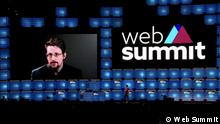 Portugal Web Summit 2019 in Lissabon | Whistleblower Edward Snowden