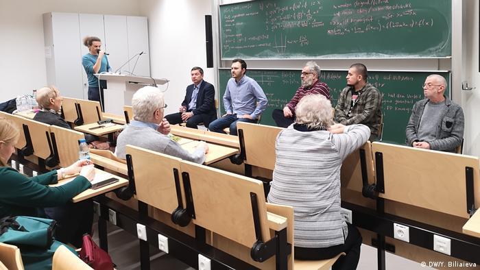 Во время одной из встреч с российскими правозащитниками в Кельне
