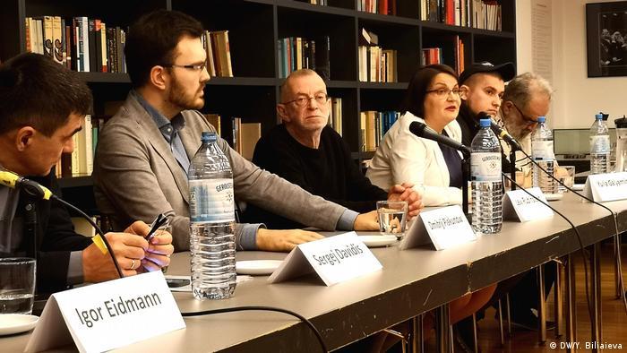 Гости из России во время встречи в Кельне