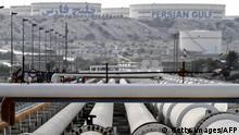 Iran Öl-Raffinerie in Charg
