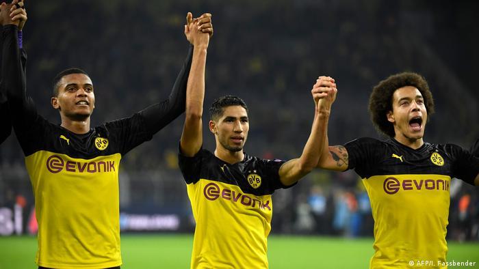 Mit Herz Und Leidenschaft Dortmund Dreht Partie Gegen Inter