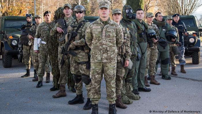 Crnogorski vojnici