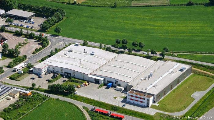 Norafin Industries production facility in Germany