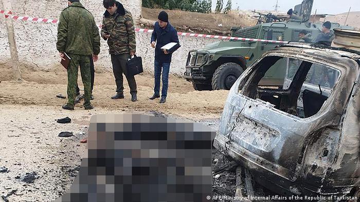 Tadschikistan Angriff auf Grenzposten