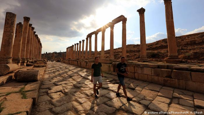 Jordanien Stadt Jerash (picture-alliance/Photoshot/M. A. Ghosh)