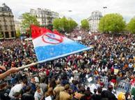 Demostratë në Paris kundër Frontit Nacional, maj 2002