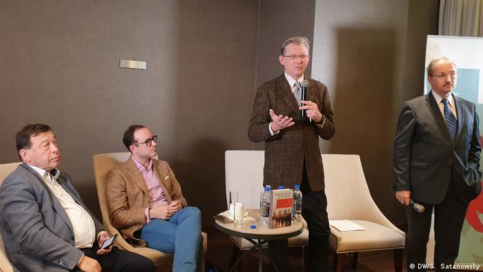 Участники презентации книги Либерализм в XXI веке