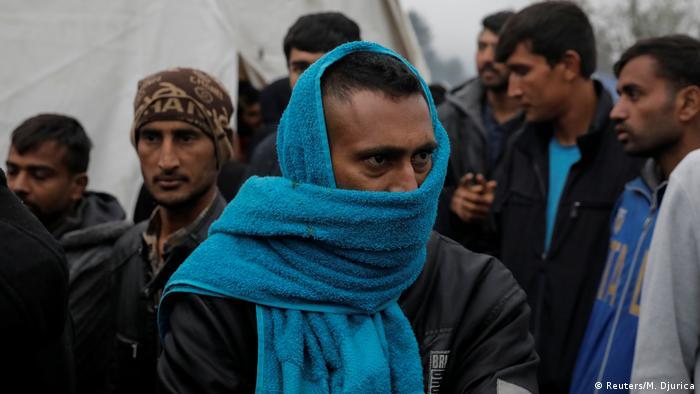 Bosnien und Herzegowina Flüchtlingslager Vucjak