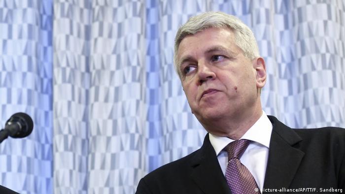 Swedish state prosecutor Hans Jorgen Hanstrom.