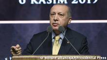 Türkei Präsident Erdogan