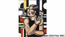 Ausstellung Der montierte Mensch (8. November 2019 - 15. März 2020) im Museum Folkwang | Fernand Léger Le Mécanicien, 1920
