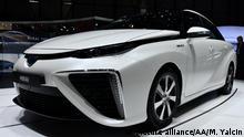 Automobil Wasserstoffantrieb l Toyota Mirai - Genf, Schweiz