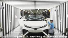 Automobil Wasserstoffantrieb l Toyota Mirai, Motomachi Fabrik