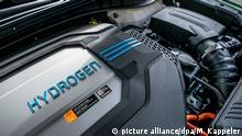 Automobil Wasserstoffantrieb l Hyundai Nexo