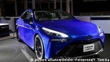 Automobil Wasserstoffantrieb l Toyota Mirai Concept, Tokyo