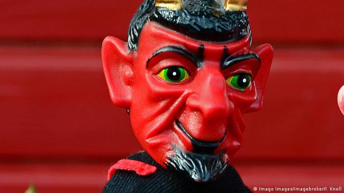 Kasperpuppen Teufel
