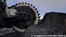Ekibastuz, Kazakhstan - Bucket wheel excavator. One of the largest open pit coal mines in the world operated by Bogatyr Access Komyr. ( Photo by: Christopher Herwig / Aurora), Ekibastuz KAZAKHSTAN PUBLICATIONxINxGERxSUIxAUTxONLY Copyright: ChristopherxHerwig 9569300048