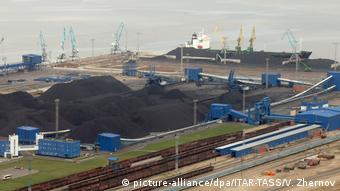 Порт Усть-Луга (фото из архива)