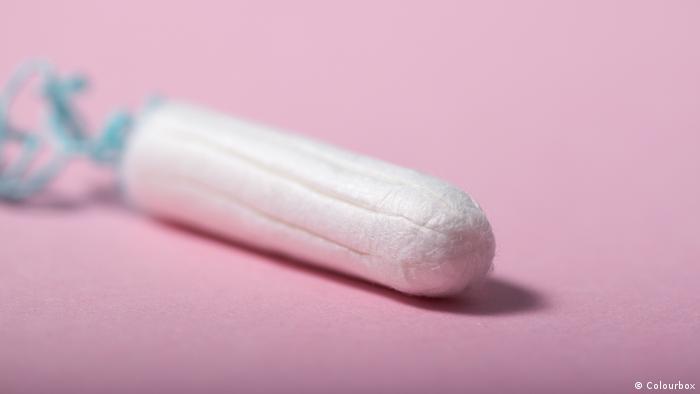 Hygieneartikel Tampon l Tamponsteuer l