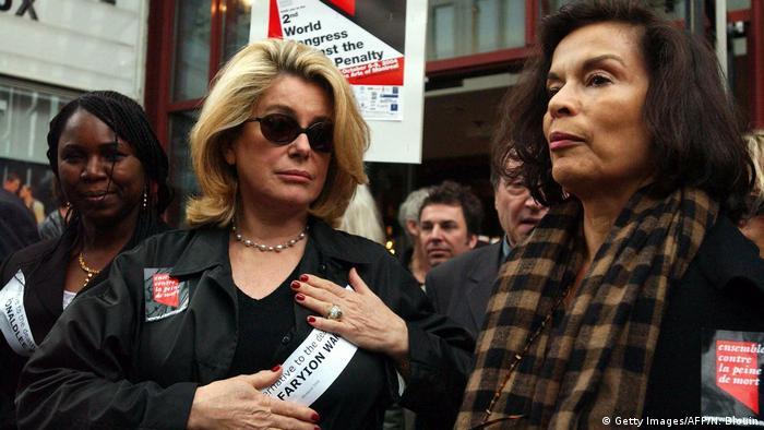 Catherine Deneuve - Protest gegen Todesstrafe