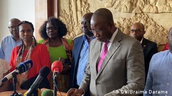 Guinea-Bissau Krise Armando Mango