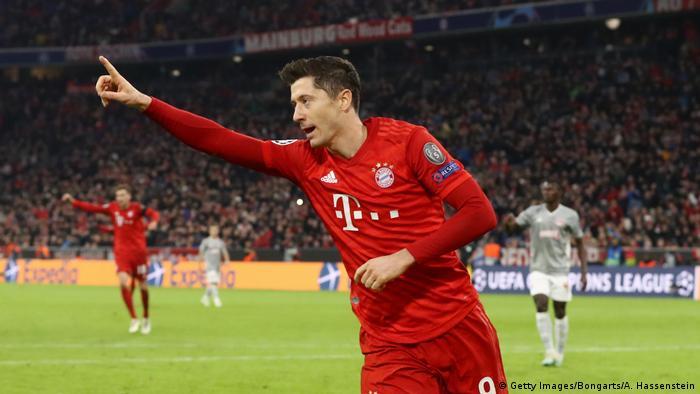 Champions League Bayern Munich Into Next Round In Hansi