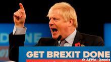 Großbritannien Wahlkampf