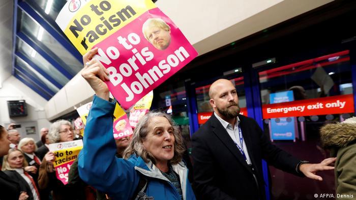 Großbritannien Wahlkampf (AFP/A. Dennis)