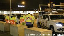 Niederlande Zwischenfall Schiphol Airport
