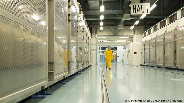 Iran Atomanlage Fordo (AFP/Atomic Energy Organization of Iran/HO)