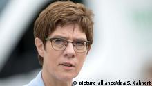 Deutschland | Verteidigungsministerin Kramp-Karrenbauer