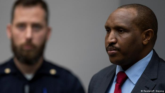 Bosco Ntaganda before the Hague court