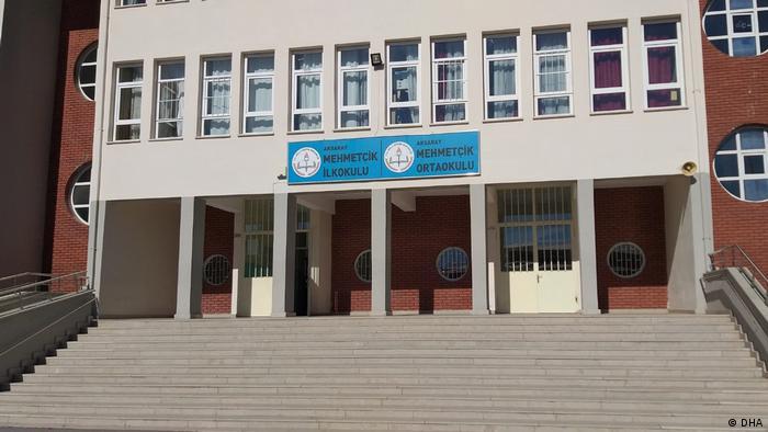 Türkei Die Mehmetçik Schule in İstanbul (DHA)
