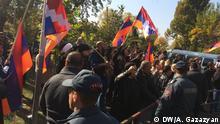 Armenien; Protestierende in Etrewan