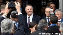 US Außenminister Pompeo in Deutschland / Mödlareuth