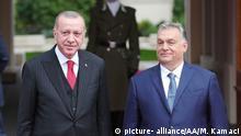 Ungarn Besuch Präsident Erdogan
